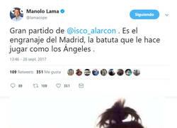 Enlace a Cuando Isco es el más flojo del partido pero los haters de Bale nos quieren vender su verdad