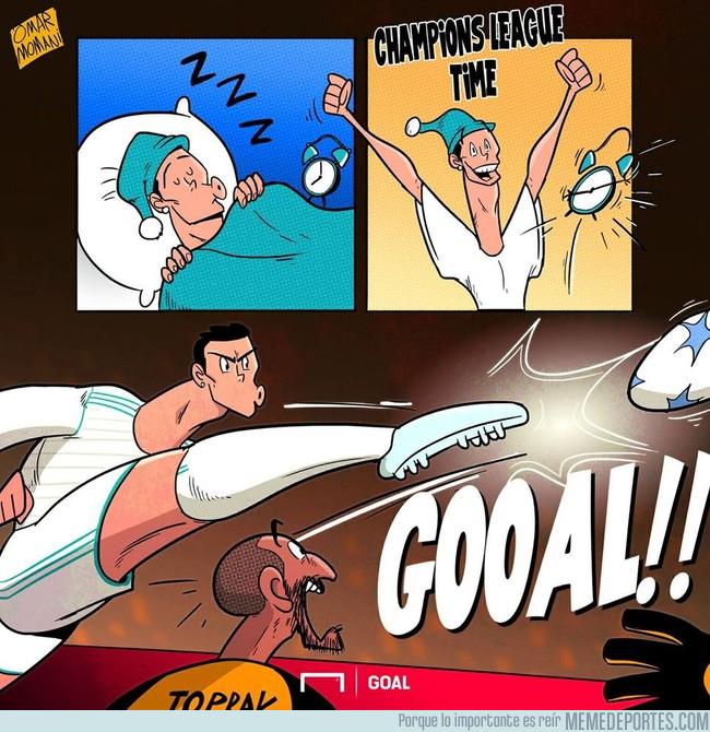 1001159 - Cristiano Ronaldo y la Champions League, una bonita historia de amor