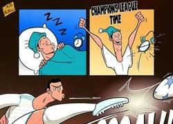Enlace a Cristiano Ronaldo y la Champions League, una bonita historia de amor