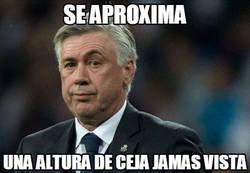 Enlace a La ceja de Ancelotti