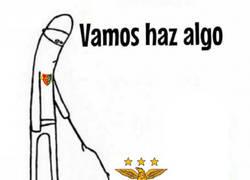 Enlace a Increíble lo del Benfica