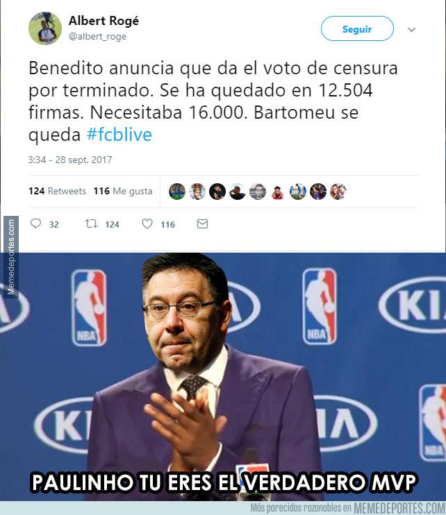 1001352 - Bartomeu ¡SE QUEDA!