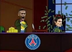 Enlace a Se filtras imágenes de la pelea entre Neymar y Cavani en el vestuario