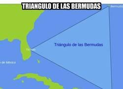 Enlace a El triángulo de las Bermudas, lugar donde pasan cosas catastróficas