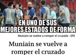 Enlace a Una malísima noticia para Muniain...