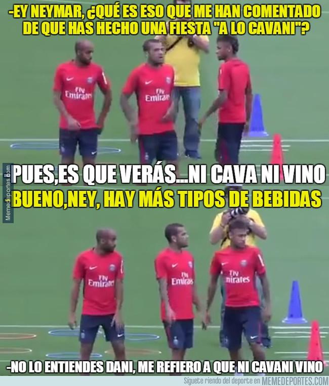 1001463 - Neymar nos cuenta cómo fue esa fiesta ''a lo Cavani''