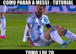 Enlace a Manual uruguayo para parar a Messi