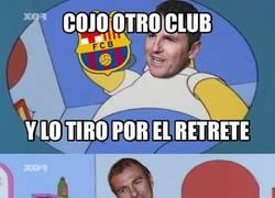 Enlace a Robert está echando el Barça a perder