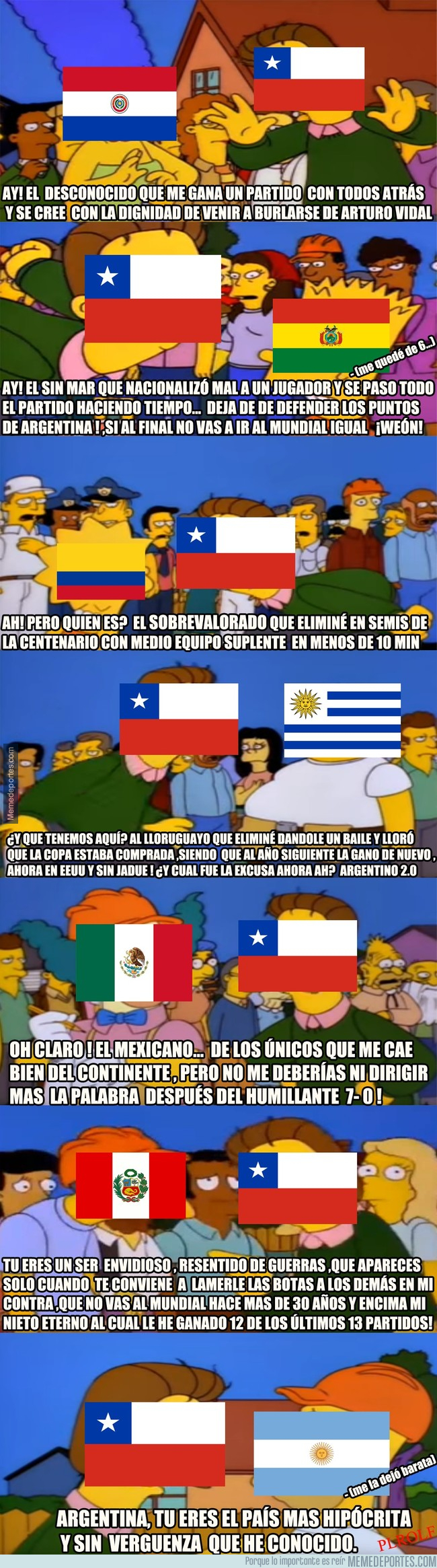997099 - Chile estallando ante la Conmebol