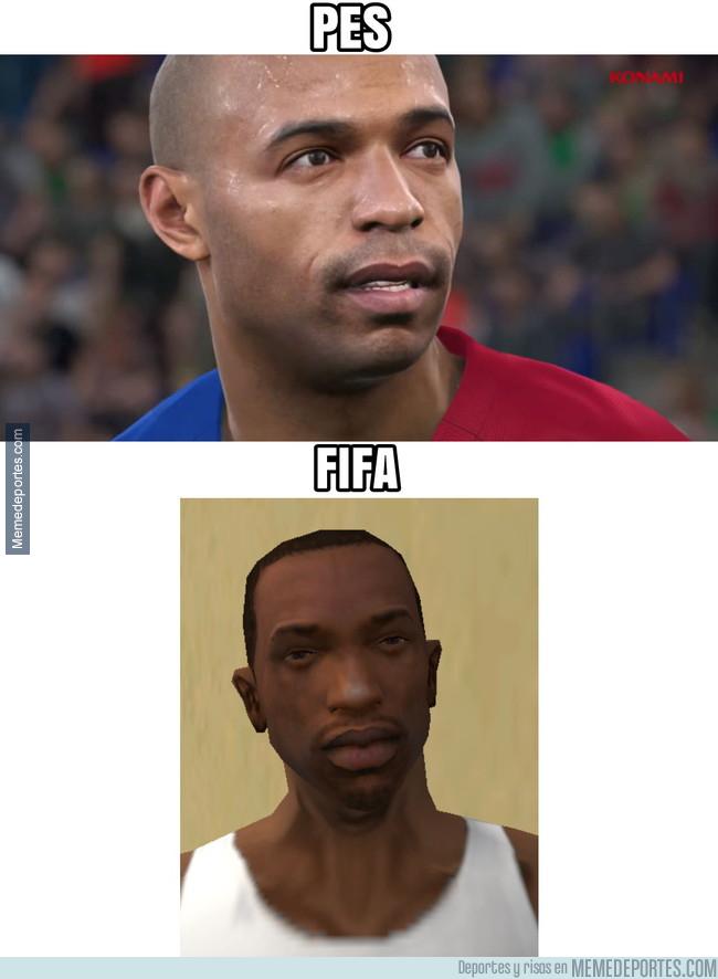 997128 - Thierry Henry en PES y FIFA
