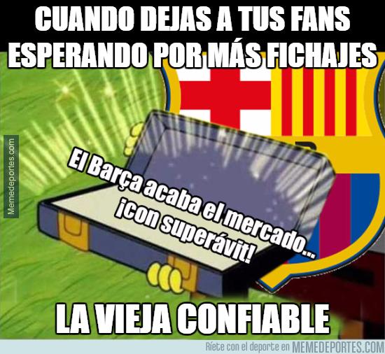 997138 - Y así pretende contentar el Barça a su afición