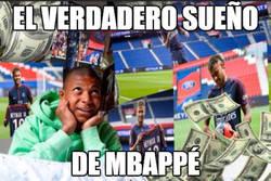 Enlace a El sueño de Mbappé