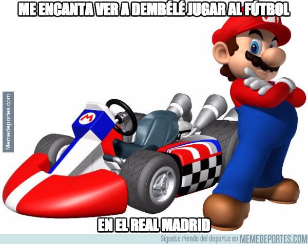 997344 - Mientras tanto, en un universo paralelo Mario se la devuelve a Dembélé