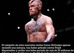Enlace a McGregor confiesa una semana después que todo fue un engaño