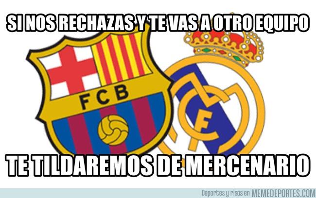 997383 - Cuando un jugador no quiere ir a Barça o Madrid...
