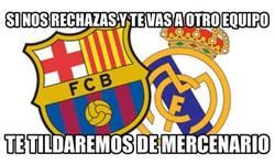 Enlace a Cuando un jugador no quiere ir a Barça o Madrid...