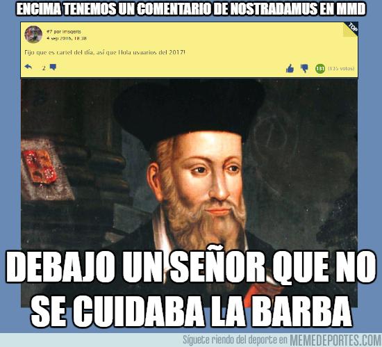 997435 - Nostradamus haciendo de las suyas