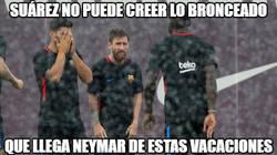 Enlace a Se le fue la mano a Neymar