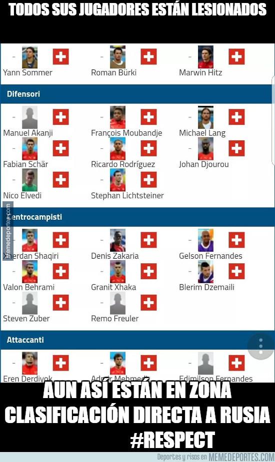 997571 - Admirable lo de los suizos