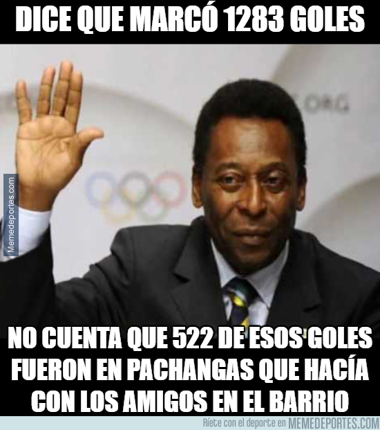 997584 - Los falsos 1283 goles de Pelé