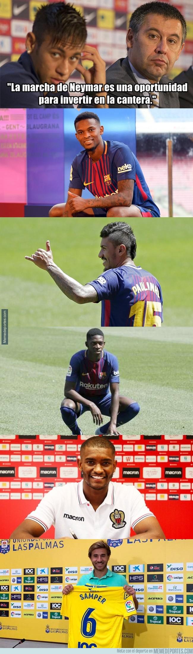 997639 - Las últimas palabras de Bartomeu sobre Neymar son lo más estúpido que se ha visto en años