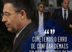 Enlace a Rajada de Neymar contra Bartomeu en Instagram