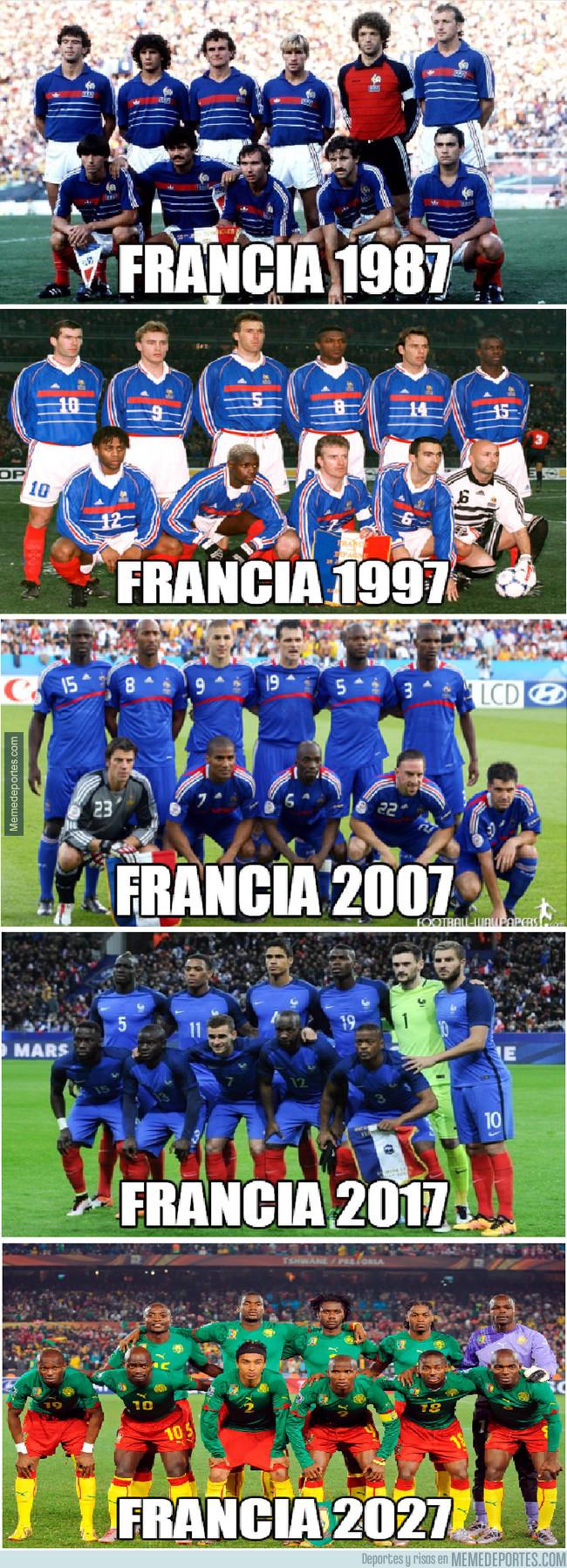 997679 - La evolución de Francia...