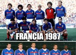 Enlace a La evolución de Francia...