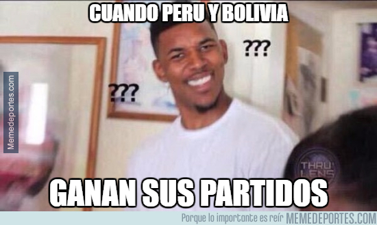 997712 - Peru y Bolivia ganaron?