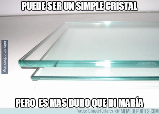 997724 - Di María, el hombre cristal