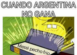 Enlace a Cuando Argentina no gana, aunque no sea su culpa