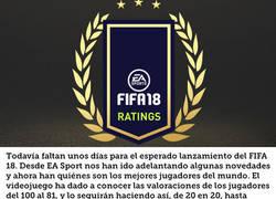 Enlace a EA Sports publica la primera parte de la lista de los mejores 100 futbolistas en el FIFA 18