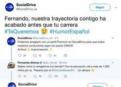 Enlace a La red social que se burló de Alonso la vuelve a cagar e indigna a todo internet