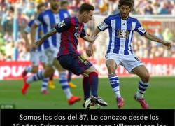 Enlace a Esteban Granero cuenta la anécdota del día que conoció a Messi y cómo Piqué lo vaciló