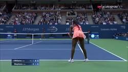 Enlace a Otro gran punto de Stephens contra Williams en el US Open