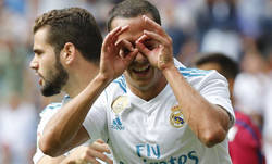 Enlace a Polémico gol del Real Madrid al Levante que debería haber sido anulado