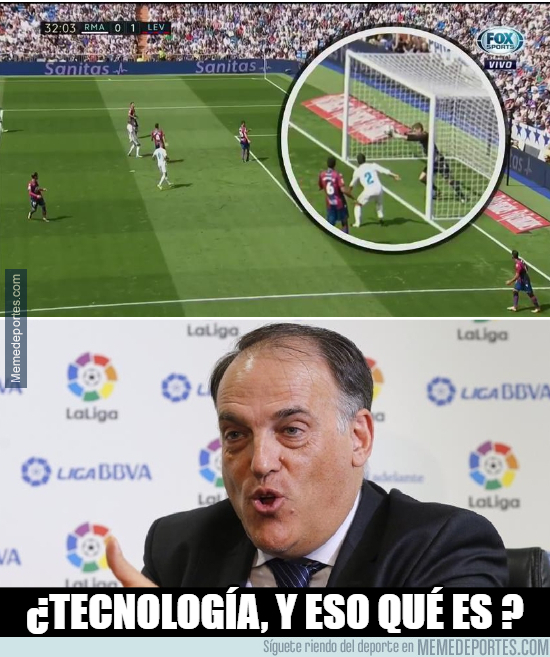 998231 - ¿Posible gol del Real Madrid?