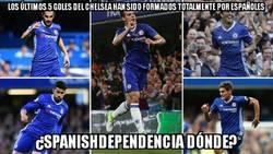 Enlace a España domina en el Chelsea