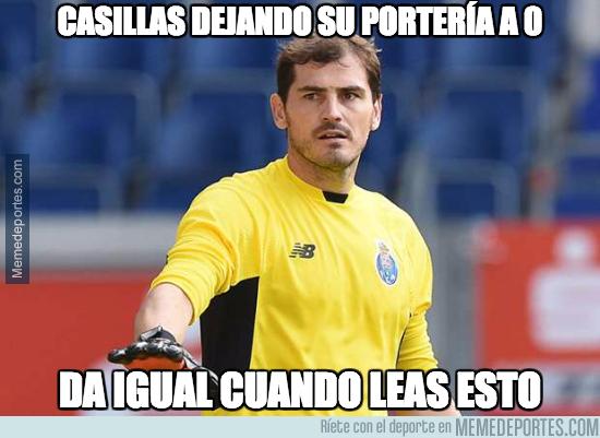 998421 - Casillas no ha recibido gol en los 5 partidos que lleva esta temporada