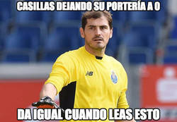 Enlace a Casillas no ha recibido gol en los 5 partidos que lleva esta temporada