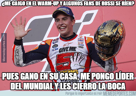 998480 - Marc Márquez respondió en la pista