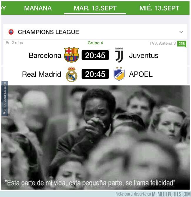 998505 - Vuelve la Champions. ¡AL FIN!