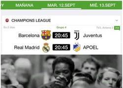 Enlace a Vuelve la Champions. ¡AL FIN!