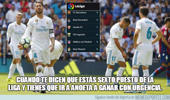 998536 - El Madrid, con