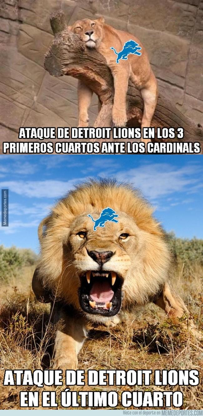 998550 - Los Lions vencieron a los Cardinals tras un último cuarto increíble