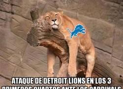 Enlace a Los Lions vencieron a los Cardinals tras un último cuarto increíble