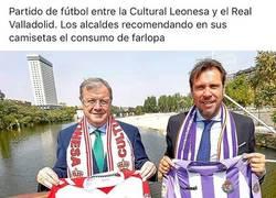 Enlace a Mientras tanto, los alcades de León y Valladolid...