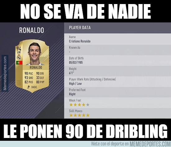 998691 - El dato de Cristiano en FIFA 18 que ha indignado a la gente