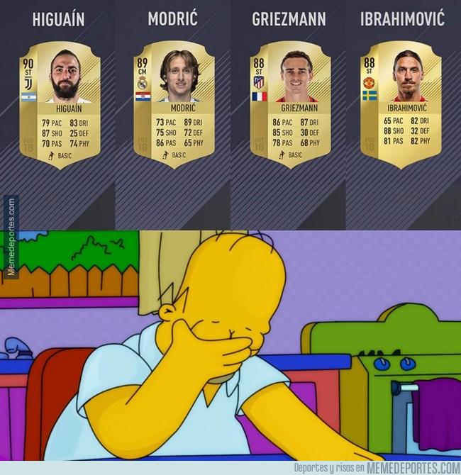 998714 - Las polémicas medias del FIFA 18
