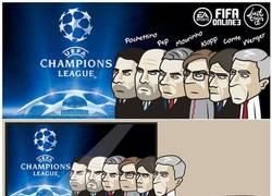 Enlace a Los entrenadores de la Champions...
